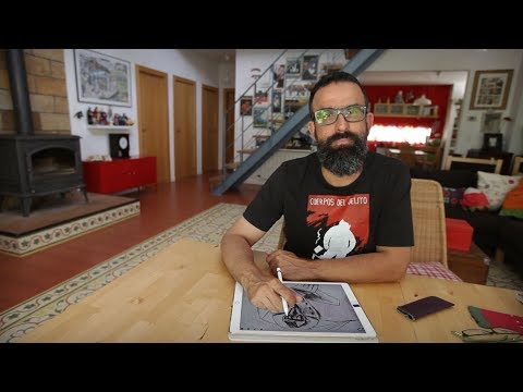 Sergio García, un dibujante en renovación para contar historias