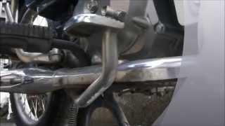 バイク整備スーパーカブ90カスタムのオイル交換をしてみた。