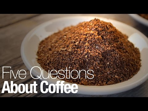 Five things about coffee every caffeine addict should know