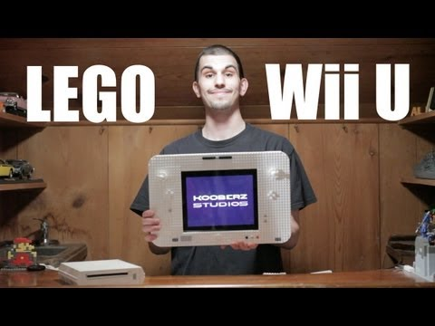 Sick Of His Lego Wii, He Upgraded To A Lego Wii U