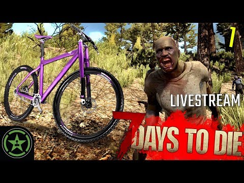 WHO STOLE MY BIKE?! - 7 Days to Die | Live Gameplay