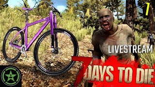 WHO STOLE MY BIKE?! - 7 Days to Die (Part 1)  | Live Gameplay