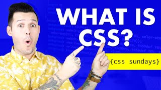 What is CSS? | CSS Sunday Ep.1