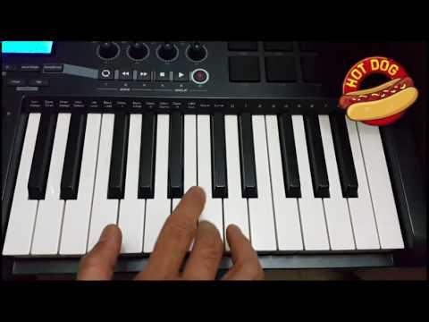 Mickey Mouse - Hotdog Song Piano