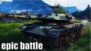 Самый ЭПИЧЕСКИЙ бой на T49 World of Tanks
