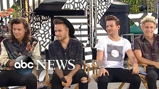 One Direction, One Direction 1D - FULL INTERVIEW | Louis Tomlinson Talks Fatherhood on GMA | Good Morning America