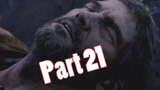 The Last of Us Remastered Gamelplay Walkthrough Part 21