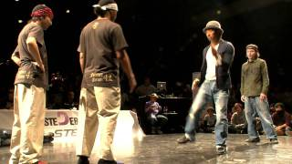 JUSTE DEBOUT 2012 【POP SIDE SEMIFINAL】フォーマーアクション vs Rhythmalism