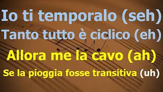 Coma Cose Post Concerto Karaoke