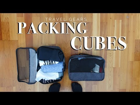 I CUBI MAGICI o packing cubes #TravelGears