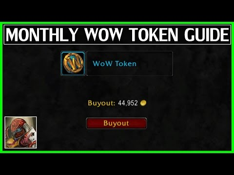 Guaranteed Monthly WoW Token Guide - WoW Legion Gold Guide