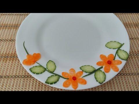 Vegetable Plate Decoration ( 01 )