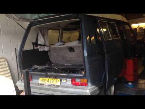 VW t25 t3 vanagon waterboxer with EFI baseline dyno tuning
