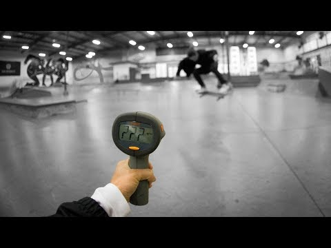 How Fast Can Jamie Tancowny Heelflip?!