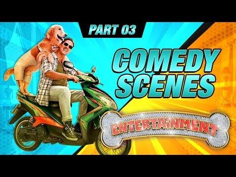 Entertainment Comedy Scenes | Akshay Kumar, Tamannaah Bhatia, Johnny Lever | Part 3