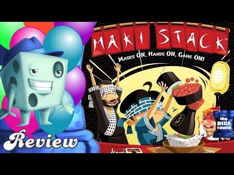 Maki Stack Review - with Tom Vasel