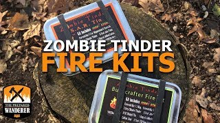 Zombie Tinder Fire Starting Kits