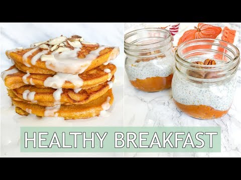 HEALTHY Breakfast Ideas | Pumpkin Breakfast Recipes