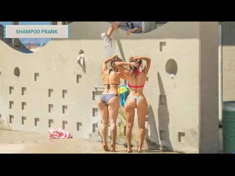 SHAMPOO PRANK | Broma épica del shampoo infinito en la playa
