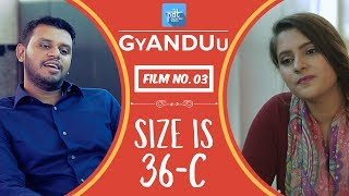 Size is 36C - PDT GyANDUu Viral film no.3 - Comedy / Lingerie / Innerwear / Bra