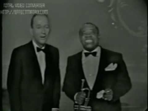 Bing Crosby & Louis Armstrong – Now you have jazz