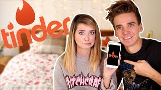 REACTING TO MY SISTERS TINDER