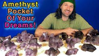 The Best Amethyst Pocket Ever Found! Purple 💜 Mine Part 4
