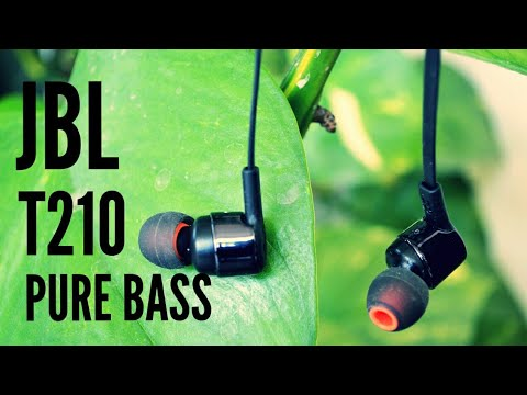 JBL Pure Bass in-Ear Headphones with Mic