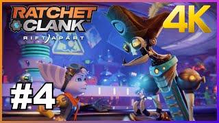 Ratchet et Clank À la recherche du Quartz Phasique #4 4K HDR