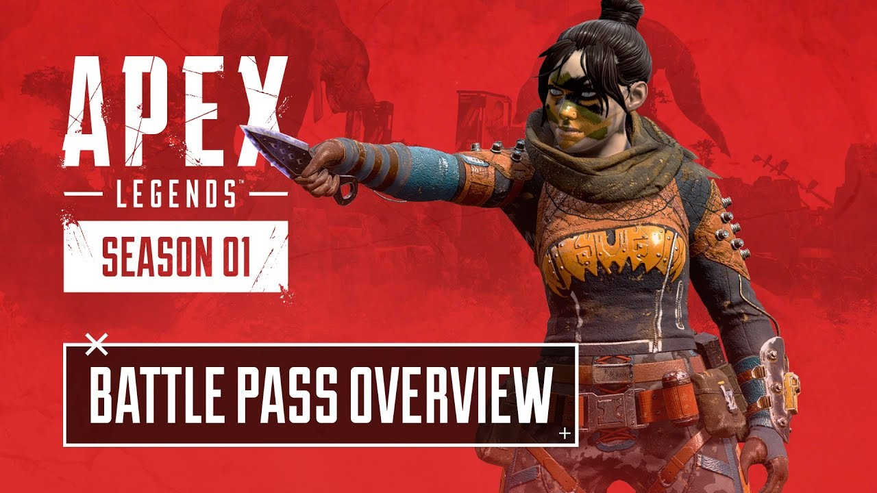 Showcase of Apex Legends' Season 1 Battle Pass