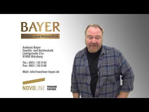 Bayer Sanitär- & Heiztechnik - Ihr Partner für exklusive Ausstattung der Novoworld