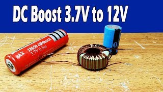 Download Video My testing booster  3.7V to 12V-13.7V DC converter MP3 3GP MP4