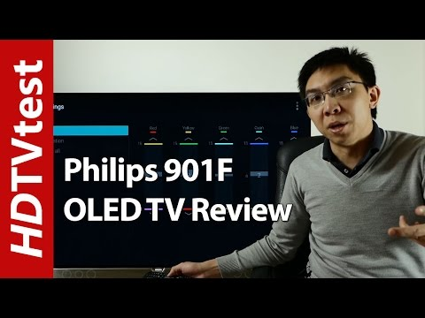 Philips 901F / 55POS901F Ambilight OLED TV Review