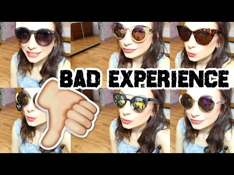 Quay Australia Sunglasses Haul (BAD EXPERIENCE)