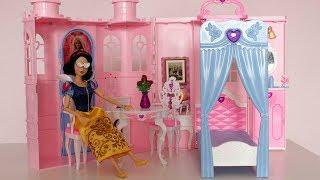 Дворец принцессы для кукол Барби / Обзор и распаковка