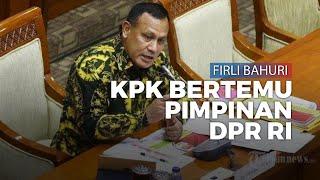 Bertemu Pimpinan DPR, Ketua KPK Firli Bahuri: Tak Bahas Perkara