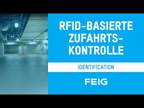 RFID-basierte Zufahrtskontrolle