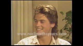 Rob Lowe Interview 1985 Brian Linehan's City Lights