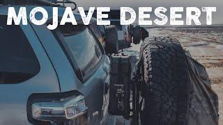 Overlanding Mojave Desert in California
