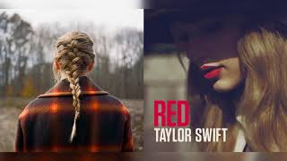 'tis the damn season x I Almost Do   Mashup of Taylor Swift [evermore x Red]