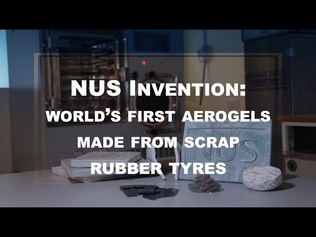 Сингапурские ученые научились получать превосходный аэрогель из старых покрышек