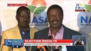 Nasa pushes for announcement despite law violation - VIDEO