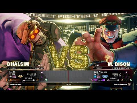 Broski (The #1 Ranked Dhalsim) vs. Problem X (M. Bison)-Street Fighter 5
