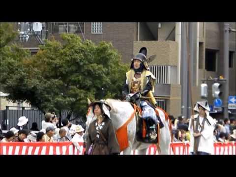 日本京都三大祭:時代祭-Jidai Matsuri, Kyoto, Japan