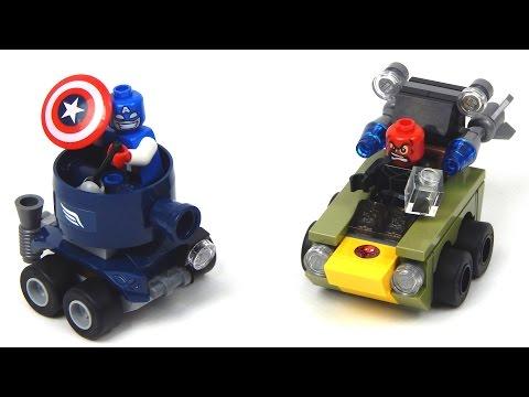 Vidéo LEGO Marvel Super Heroes 76065 : Capitaine America contre Crâne rouge