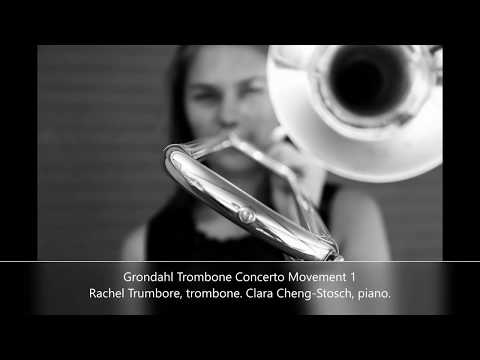 Grondahl Trombone Concerto Movement 1