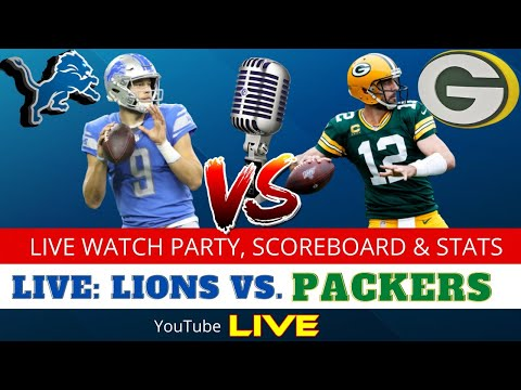 Lions vs. Packers Live Stream Reactions & Updates On Highlights For NFL Sunday Football Week 2