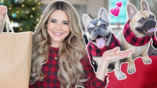 Buying My Dogs EVERY Christmas Toy From The Store! thumbnail