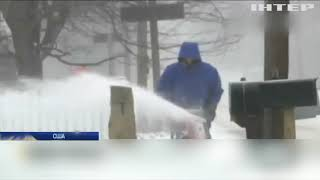 Нью-Йорк скувало рекордними морозами