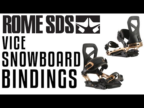 2018 Rome Vice Snowboard Bindings – Review – The-House.com